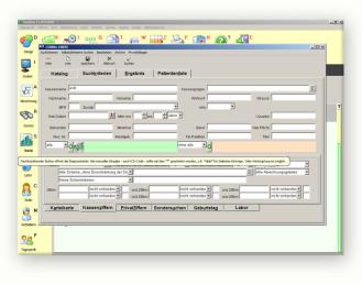 Systec Kloth GmbH - Suchprogramm